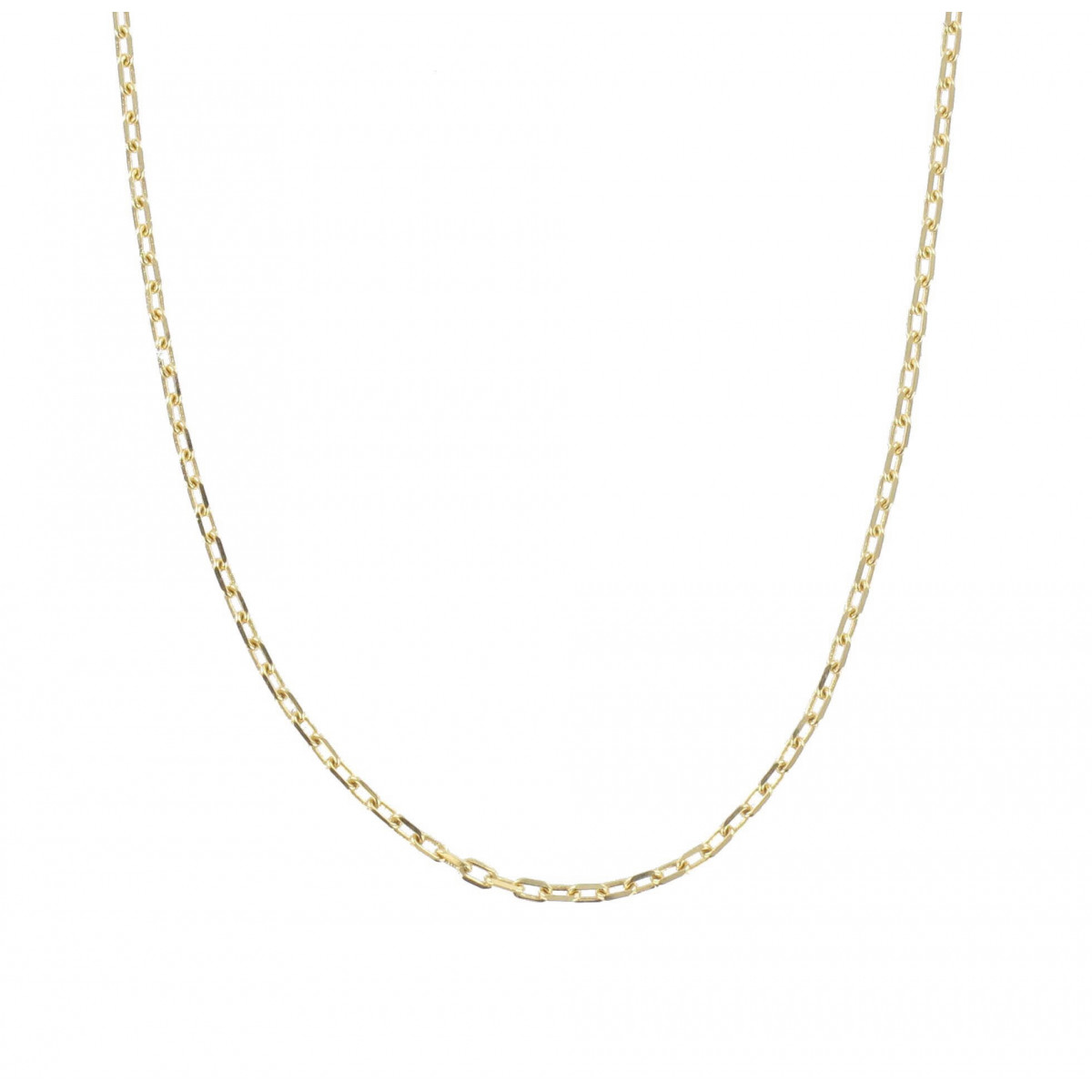GOLD 40 CENTIMETERS CHAIN