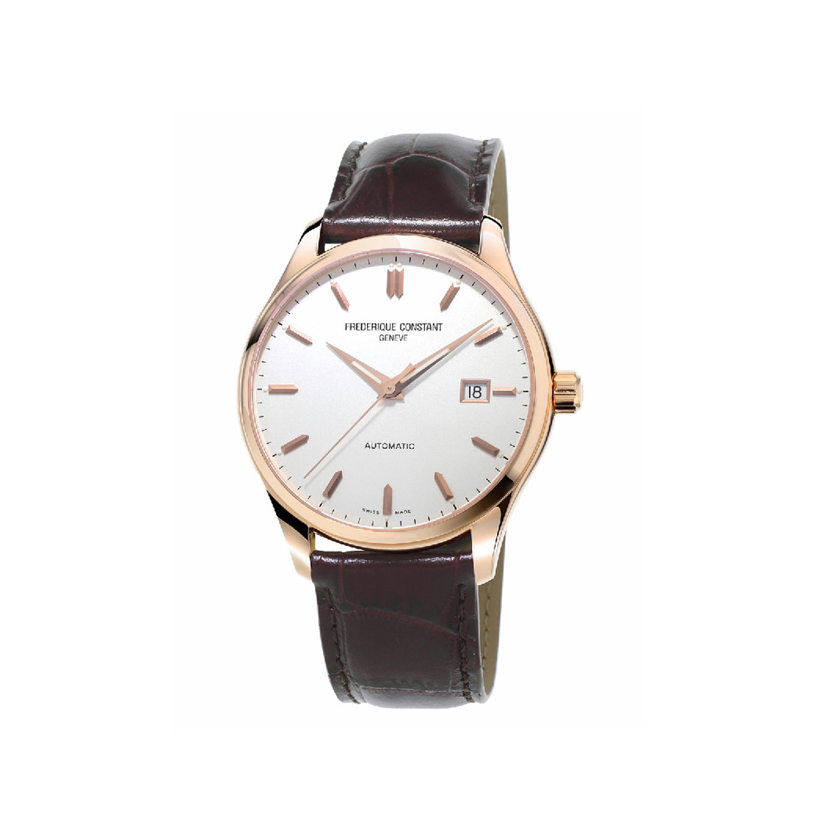 FREDERIQUE CONSTANT NEW INDEX AUTOMATIC GOLD PLATED