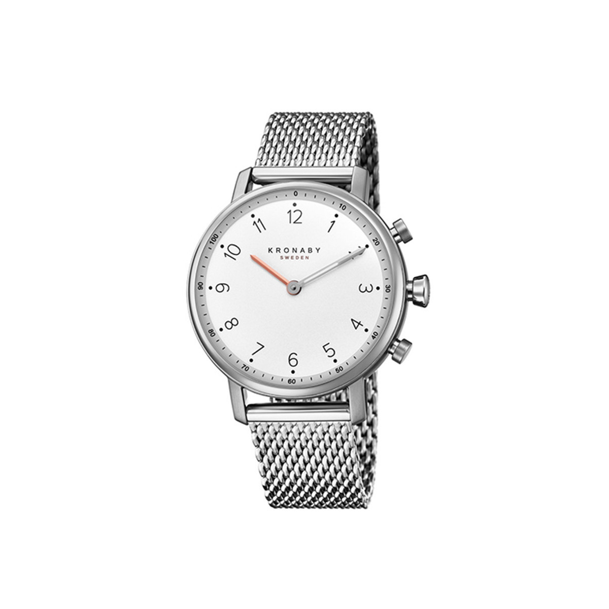 KRONABY NORD SILVER MILANESE