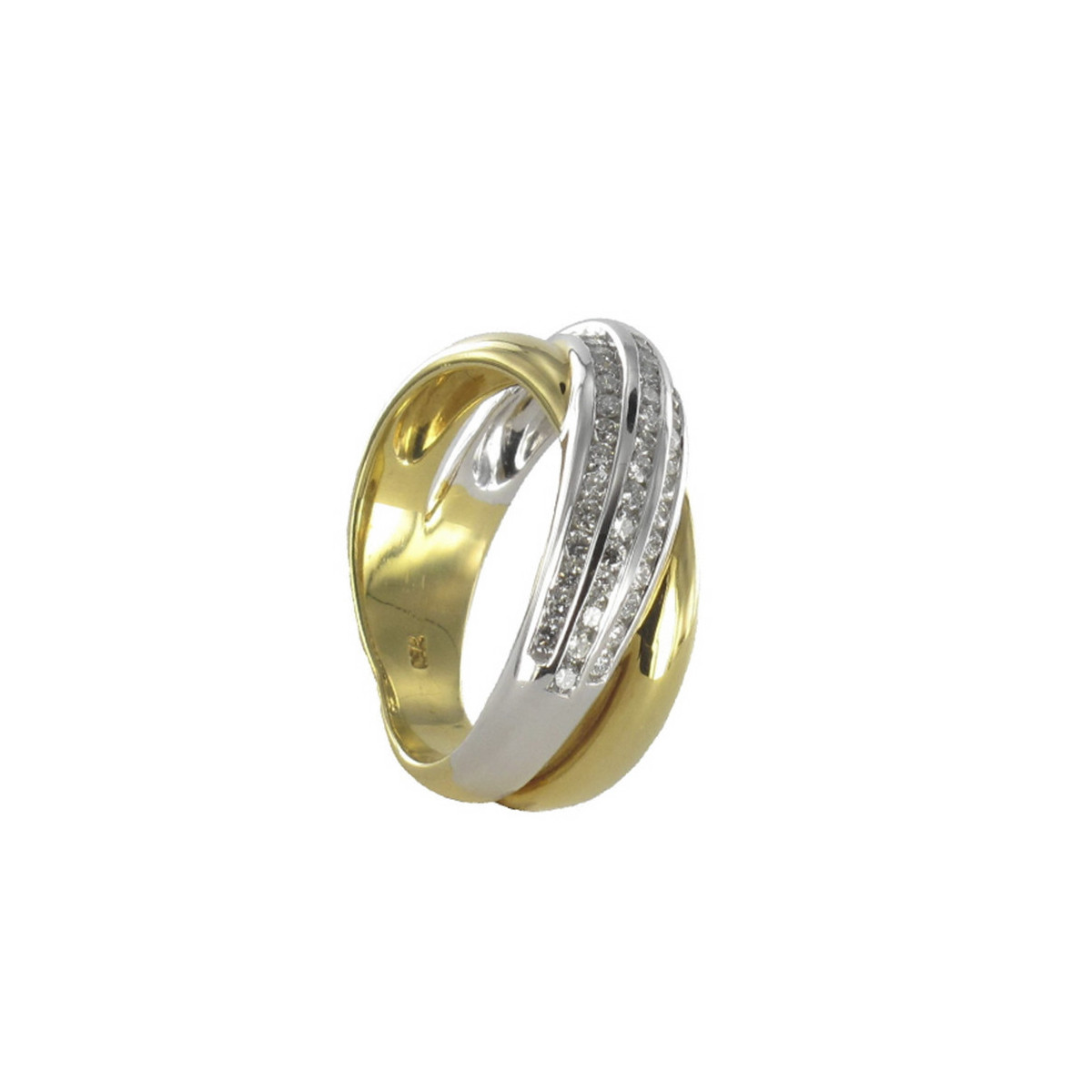 GOLD AND DIAMONDS RING