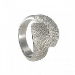 ANELL OR AMB DIAMANTS PETITS 0,83 KTES