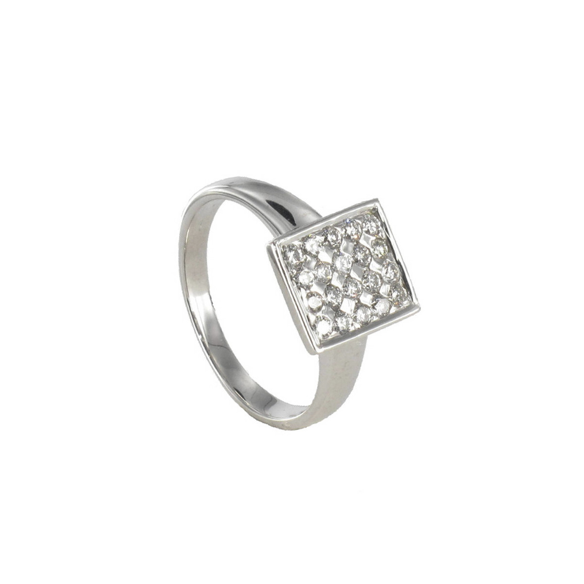 ANELL OR SEGELL AMB 20 DIAMANTS