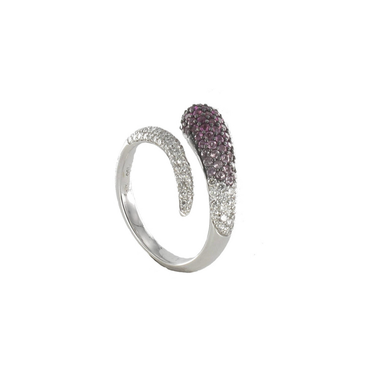 RING WITH PINK SAPPHIRES