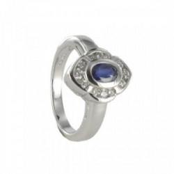 RING IN GOLD WITH SAPPHIRE 0.65 CARAT