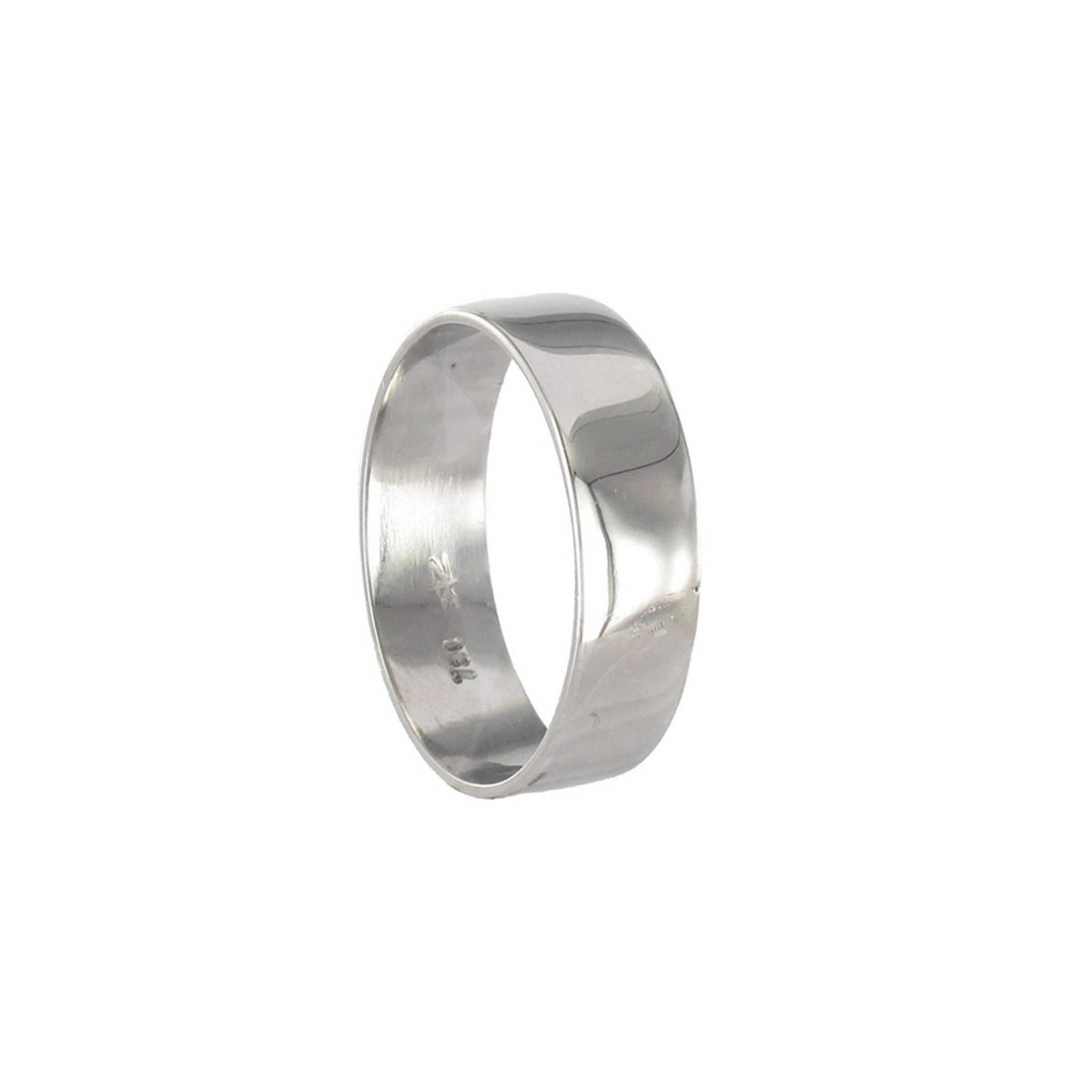 GOLD RING 6 MM WIDE