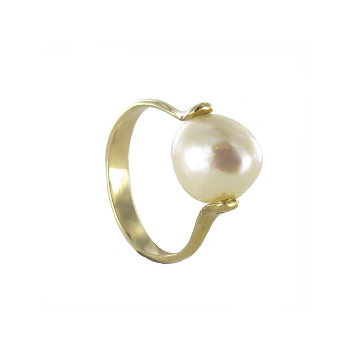 RING WITH BAROQUE CULTIVATED PEARL
