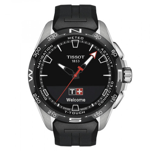 TISSOT T-TOUCH CONNECT SOLAR CAUCHO