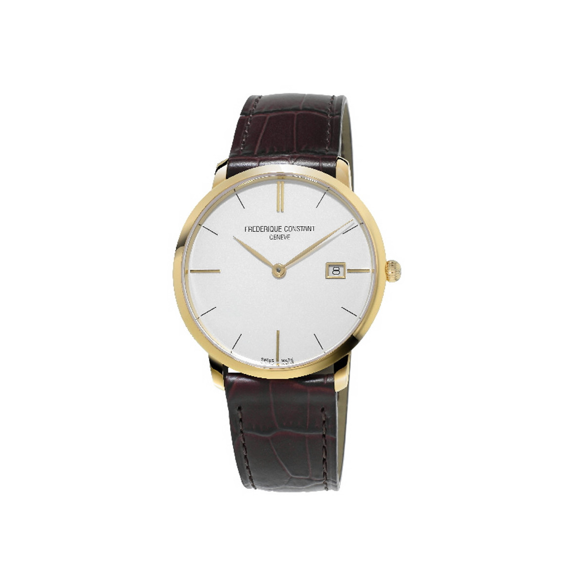 FREDERIQUE CONSTANT SLIMLINE GOLD PLATED