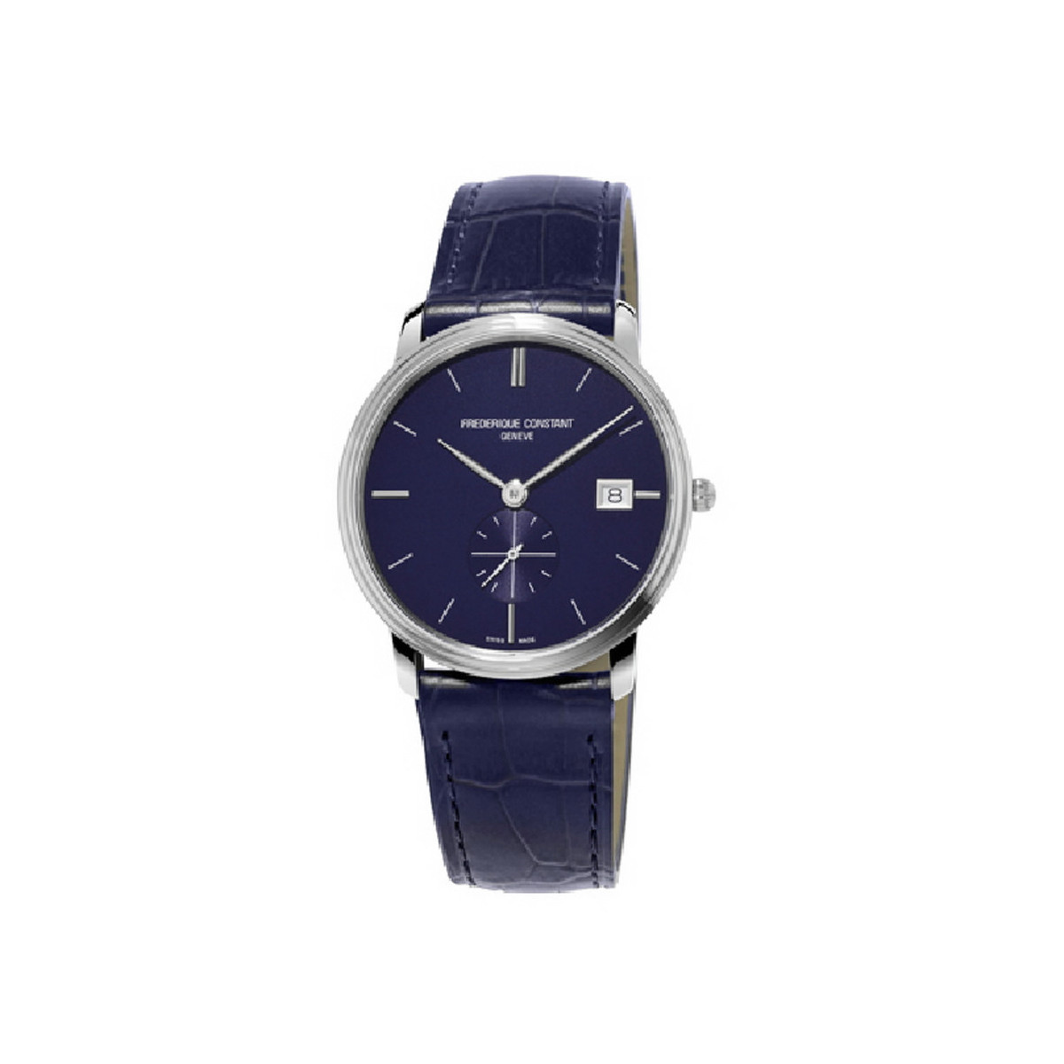 FREDERIQUE CONSTANT SLIMLINE GENTS BLUE SMALL SECONDS