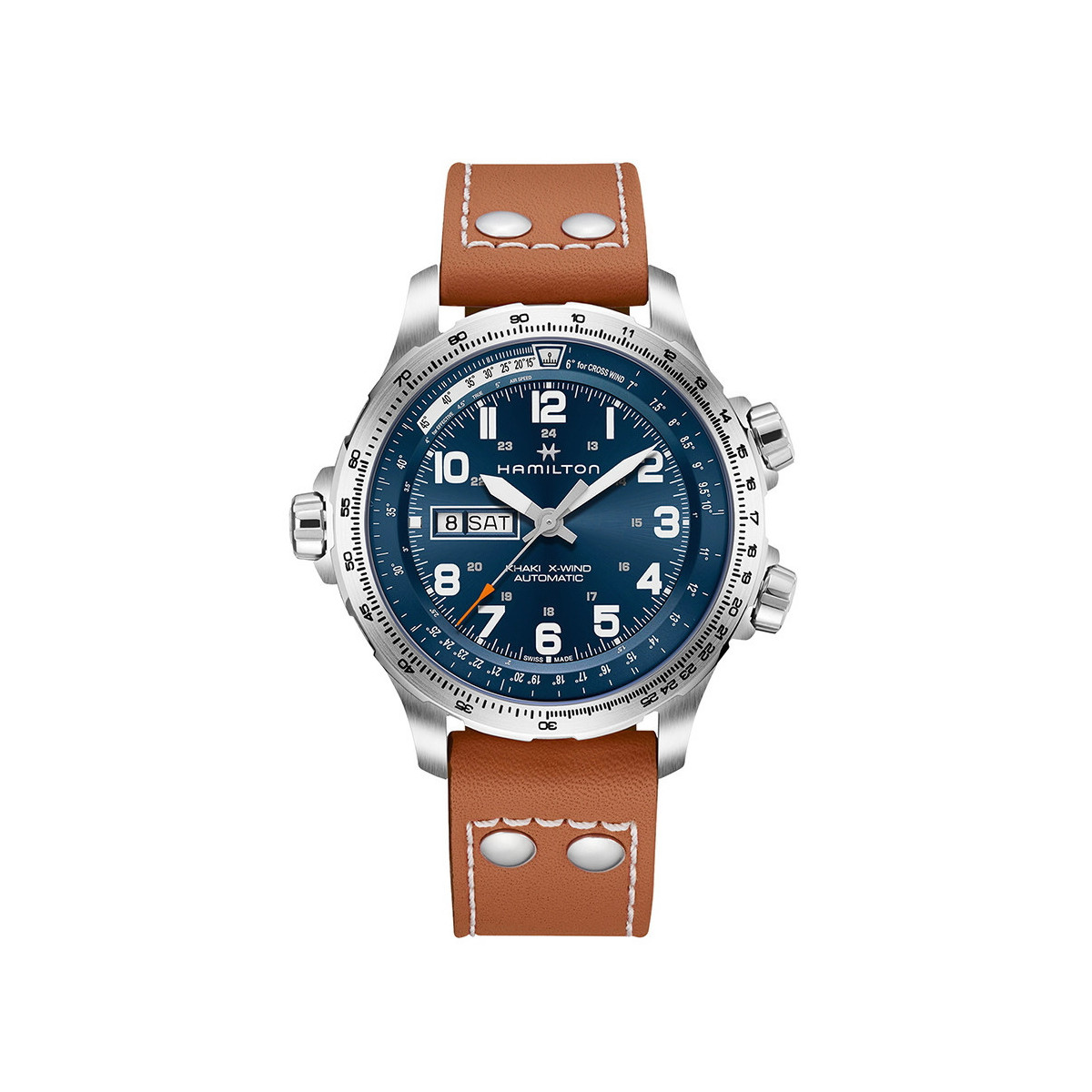 HAMILTON KHAKI AVIATION X-WIND AUTOMATICO