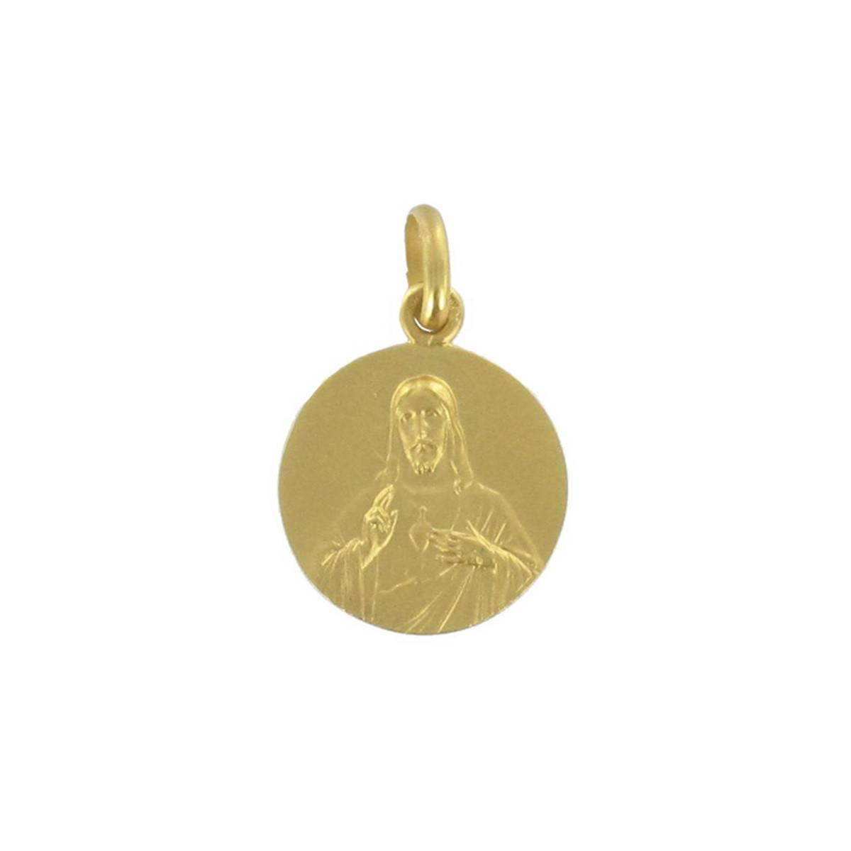 GOLD SCAPULAR 18 MM 2.95 GR