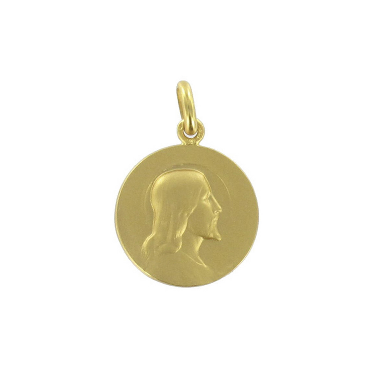 GOLD SCAPULAR WITH FACES 2.80 GR