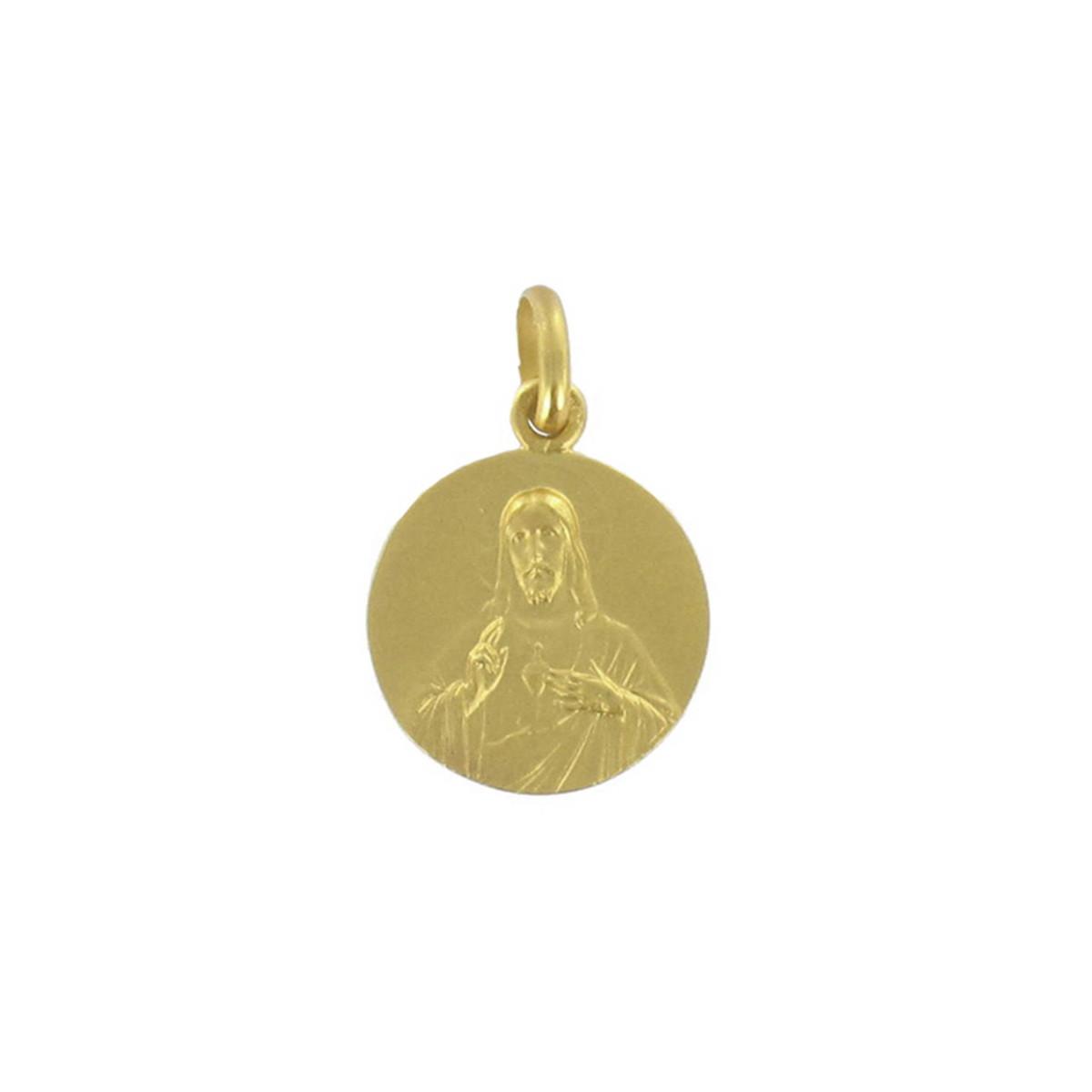GOLD SCAPULAR 14 MM 2.70 GR